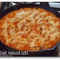 Skillet Baked Ziti Recipe