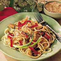 Image of Asian-style Spaghetti Recipe, Group Recipes