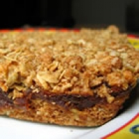 Image of Almost My Grandmas Date Squares Recipe, Group Recipes