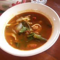 Authentic Thai Tom Yam Soup Recipe