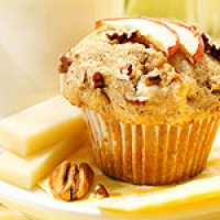 Image of Apple Pecan Muffins With Brick Cheese Recipe, Group Recipes