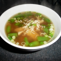 Image of Asia Chicken Noodle Soup Recipe, Group Recipes