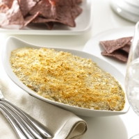 Image of Alouette Spinach Artichoke Crab Dip Recipe, Group Recipes