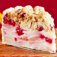 Image of Apple-cranberry-hazelnut Pie Recipe, Group Recipes