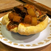 Image of Acorn Squash Beef Pies Recipe, Group Recipes
