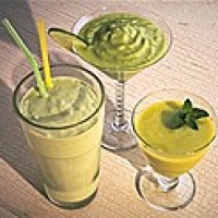 Image of Avocado Ice Cream Power Milkshakes Recipe, Group Recipes