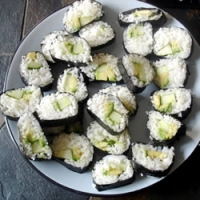 Image of Avocado Sushi Recipe, Group Recipes
