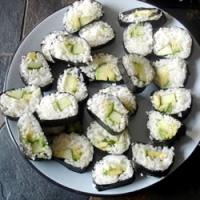 Image of Avocado Sushi Recipe, Group Recipes