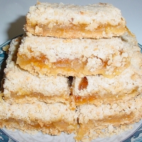 Image of Apple Streusel Cheesecake Bars Recipe, Group Recipes