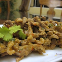 Image of Asian Stir-fried Pork Recipe, Group Recipes