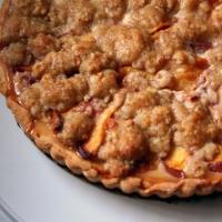 Image of European Pear Or Peach Tart Recipe, Group Recipes