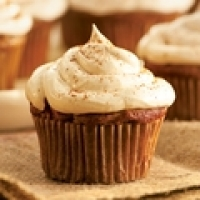 Image of Apple Cupcakes With Cinnamon-marshmallow Frosting Recipe, Group Recipes