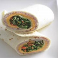 Image of Asian Turkey Wrap Recipe, Group Recipes