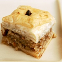 Image of Almond And Walnut Baklava Recipe, Group Recipes