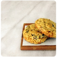 Image of Almond Toffee Oatmeal Cookies Recipe, Group Recipes