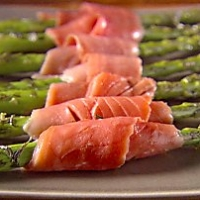 Image of Asparagus And Smoked Salmon Bundles Recipe, Group Recipes
