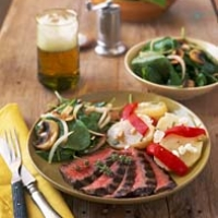Image of Asian Marinated Flank Steak Recipe, Group Recipes