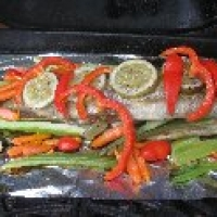 how to cook trout on bbq