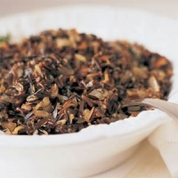 Wild Rice,mushroom And Cranberry Dressing Recipe