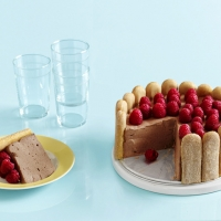 Charlotte Russe With Raspberries Recipe