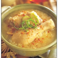 Image of Arroz Caldo - Chicken Rice Porridge Recipe, Group Recipes