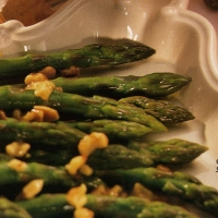Image of Asparagus With Toasted Walnut Butter Recipe, Group Recipes