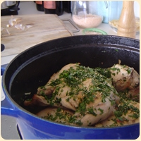Image of Antique Rabbit Stew Recipe, Group Recipes