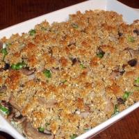 Image of Pea And Mushroom Crisp Recipe, Group Recipes
