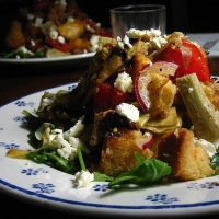 Image of Antipasto Panzanella Recipe, Group Recipes