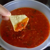 Image of Authentic Mexican Picante Salsa Recipe, Group Recipes