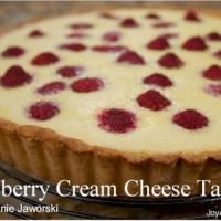 Raspberry Cream Cheese Tart Recipe