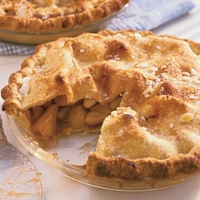 Image of Apple Pie With Cider Pecan Crust Recipe, Group Recipes