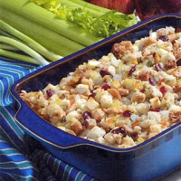 Image of Sweet-n-savory Apple Stuffing Recipe, Group Recipes