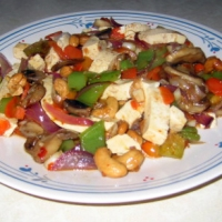 Image of Asian Style Tofu With Cashews Recipe, Group Recipes