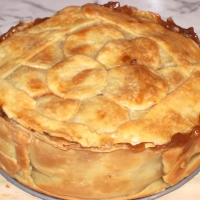 Image of Apple And Butterscotch Pie Recipe, Group Recipes