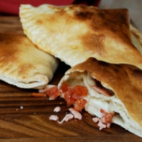 Smoked Salmon And Mozzarella Calzone Recipes — Dishmaps
