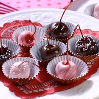 Image of Almond-filled Chocolate Covered Cherries Recipe, Group Recipes
