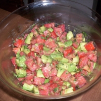 Image of Avacado Tomato Salad Recipe, Group Recipes