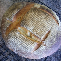 Simple Sourdough Boule Recipe