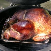 Smoked Turkey Big Green Egg Style Recipe