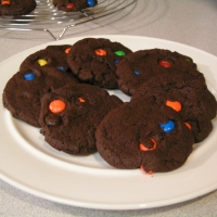 Image of Awesome Chocolate M&m Nutella Cookies Recipe, Group Recipes