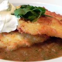 Image of Arroz Tortas~ Rice Patties W/ Tomato Salsa Recipe, Group Recipes