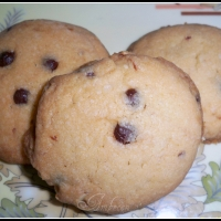 Image of Almond & Chocolate Chips Jumbles Recipe, Group Recipes
