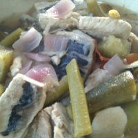 Simple Sinigang Na Bangus Belly Recipe