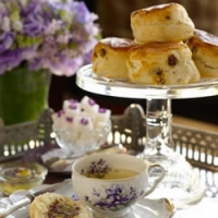 Image of Afternoon Tea With Scones And Clotted Cream Recipe, Group Recipes