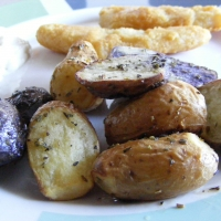 Oven Braised Fingerling Potatoes In Wine Recipe