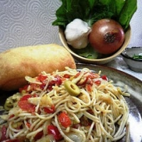 Image of Angel Hair Oglio Olio With Fennel Recipe, Group Recipes