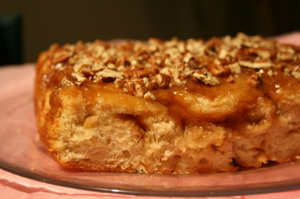 Caramel Apple Sticky Buns by Buttercream Barbie