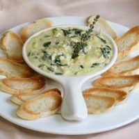 Tgif Copycat Hot Spinach Artichoke Dip Recipe